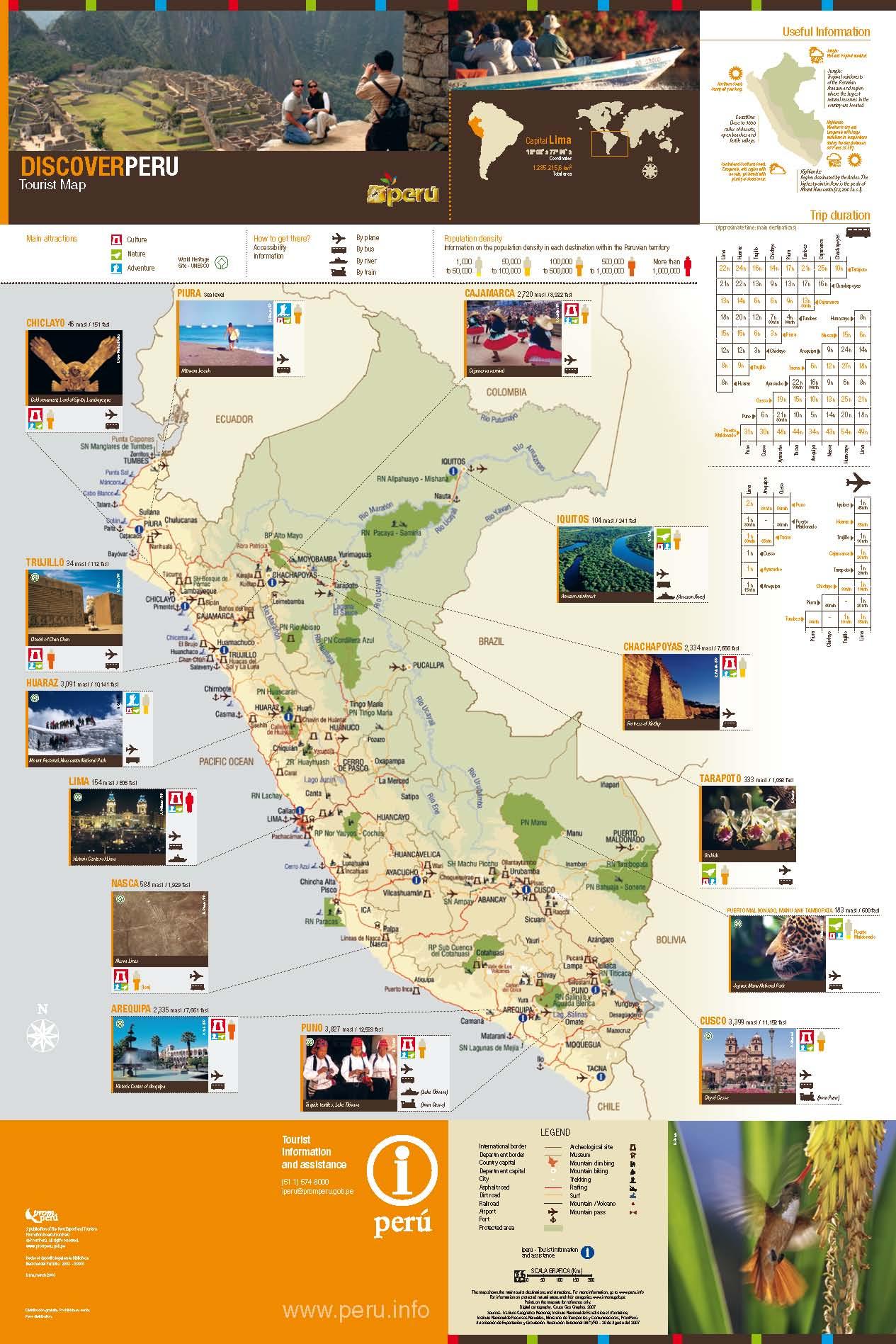 Peru tourism map images peru tourism map peru tourist map peru tourist map source abuse report sciox Gallery