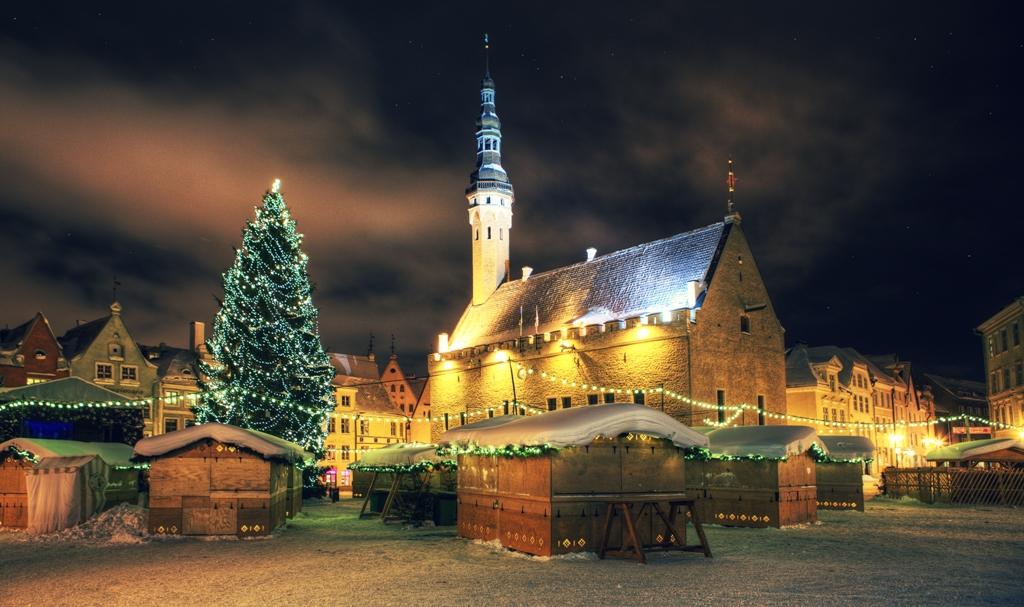 Новогодние туры в Эстонию и Таллин 2018-2019