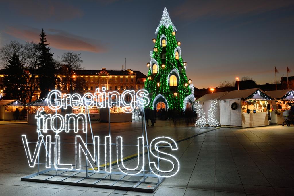 Новогодние туры в Литву и Вильнюс 2018-2019